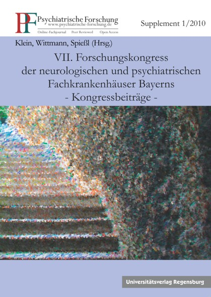 Psychiatrische Forschung; Supplement 1/2010
